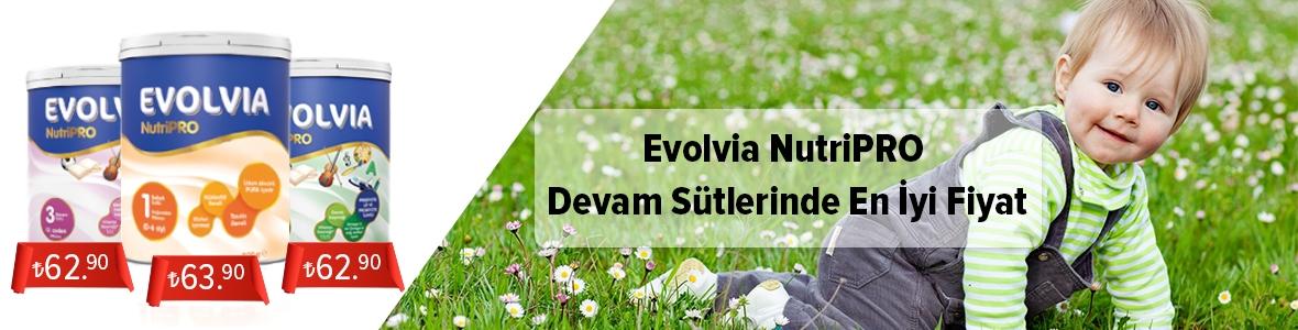 Evolvia NurtiPRO Devam Sütlerinde En İyi Fiyat Garantisi