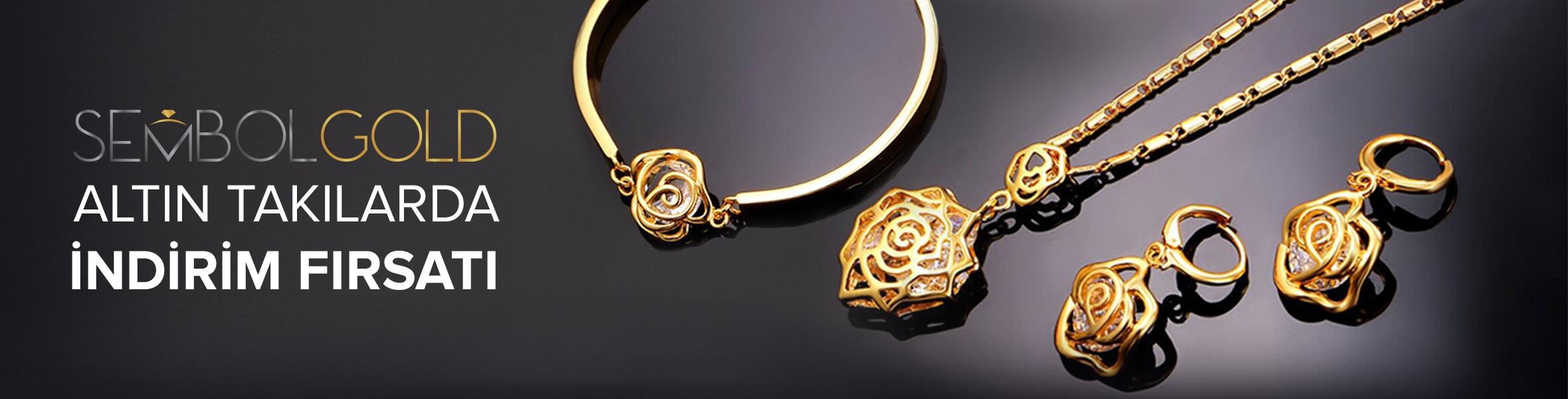 Sembol Gold Markalı Altın Takılarda İndirim Fırsatı