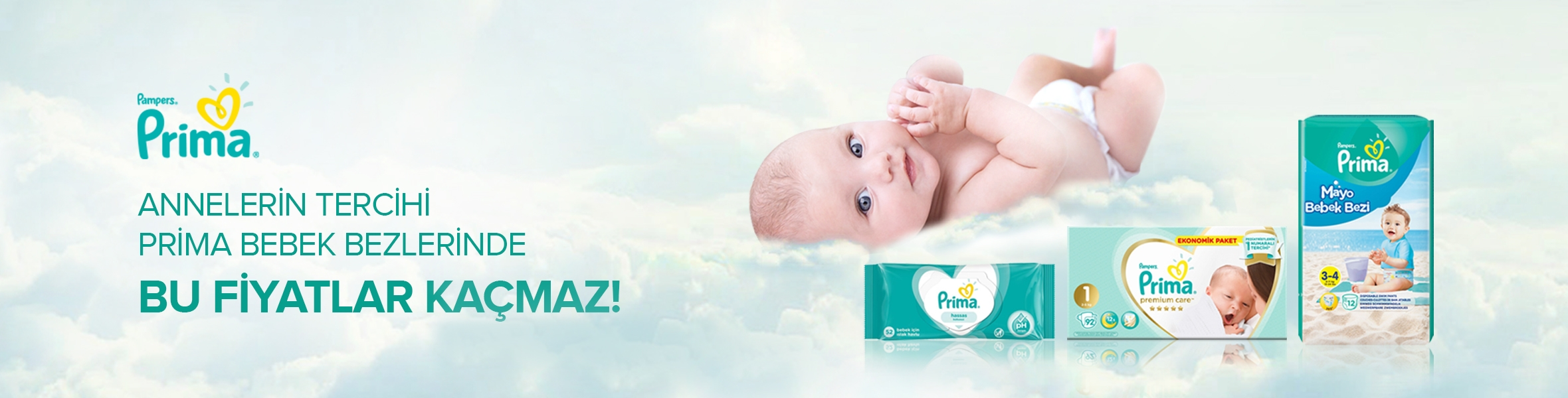 Prima Bebek Bezlerinde uygun fiyatlar !
