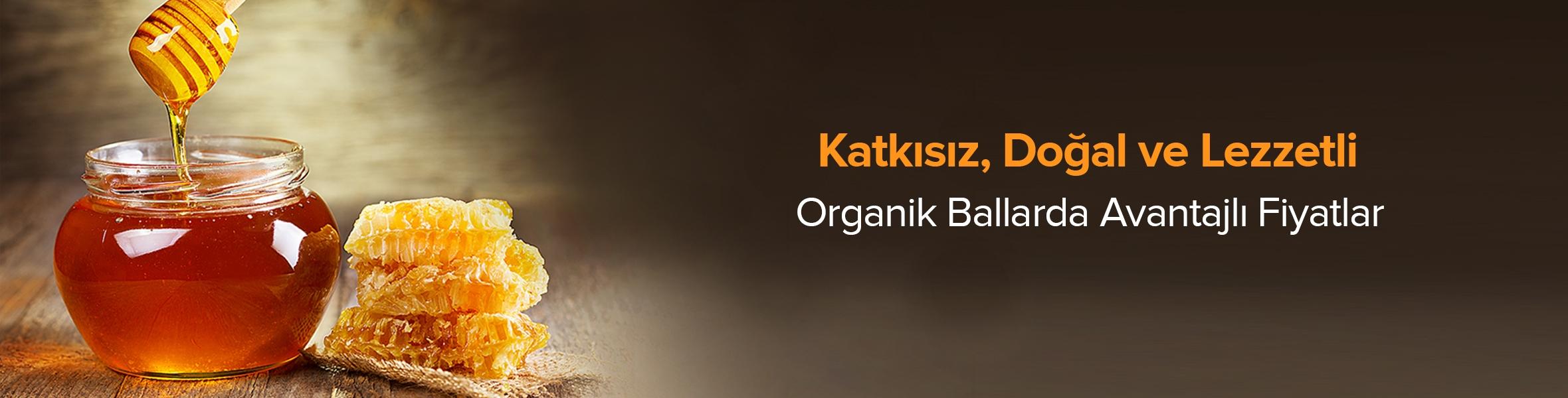 Organik Bal Ürünlerinde Avantajlı Fiyatlar