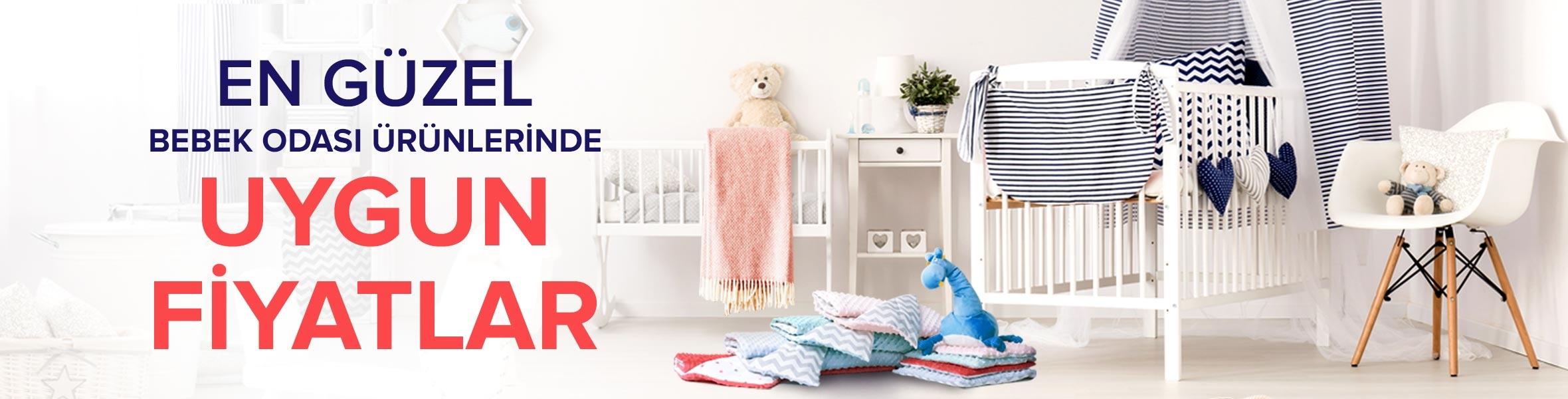 Bebeğinizin Odasına Ait En Güzel Ürünler