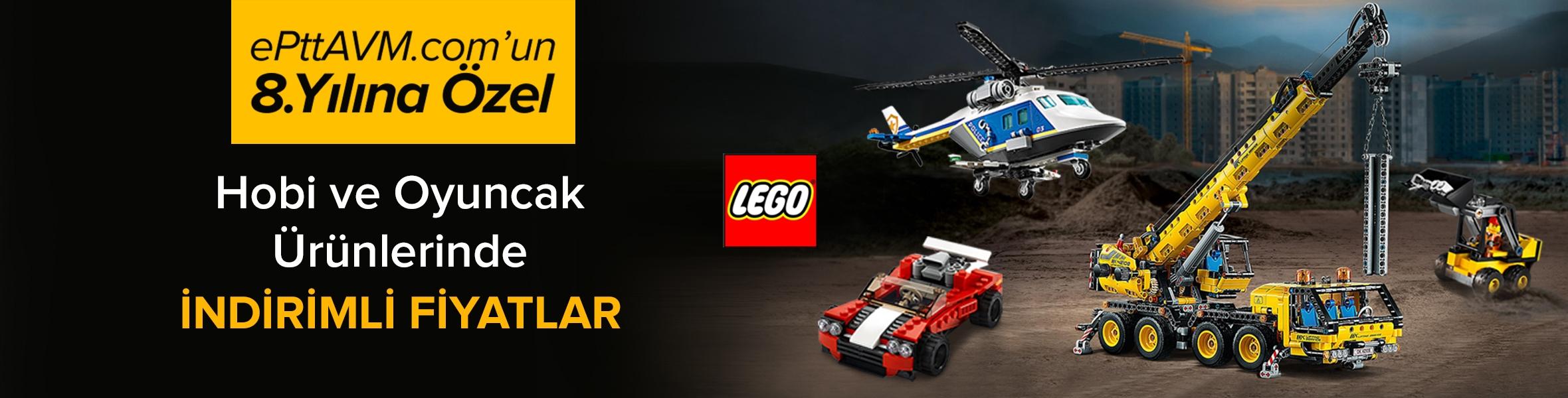 Lego Parçaları Birleştir Kampanya