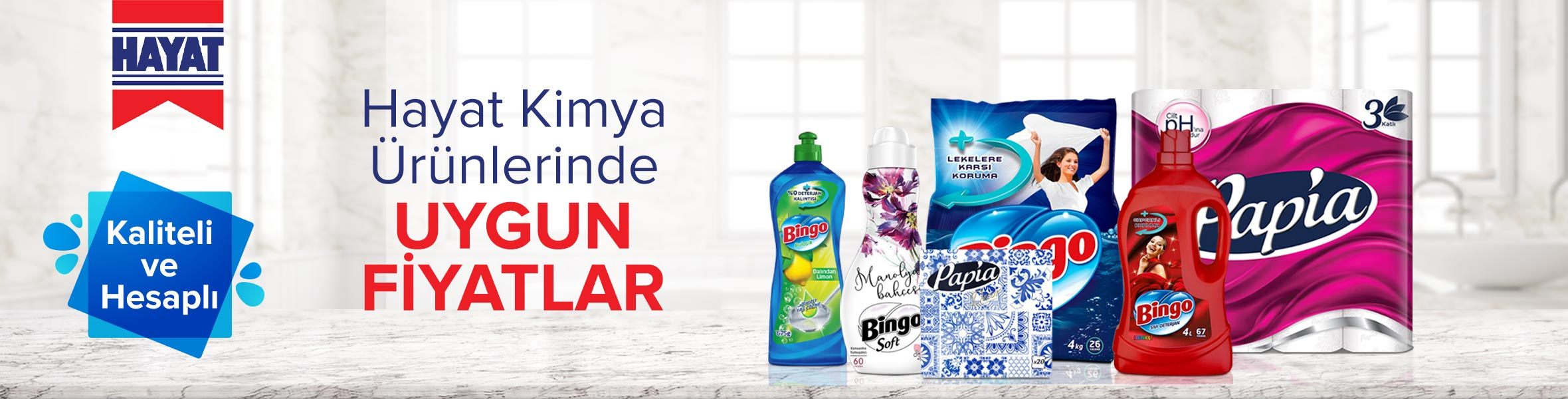 Hayat Kimya Süpermarket Ürünlerinde Cazip Fiyatlar !!!
