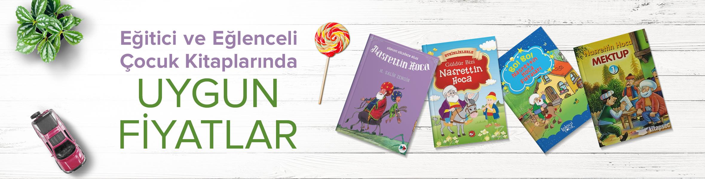 Eğitici ve Eğlenceli Çocuk Kitaplarında Uygun Fiyatlar