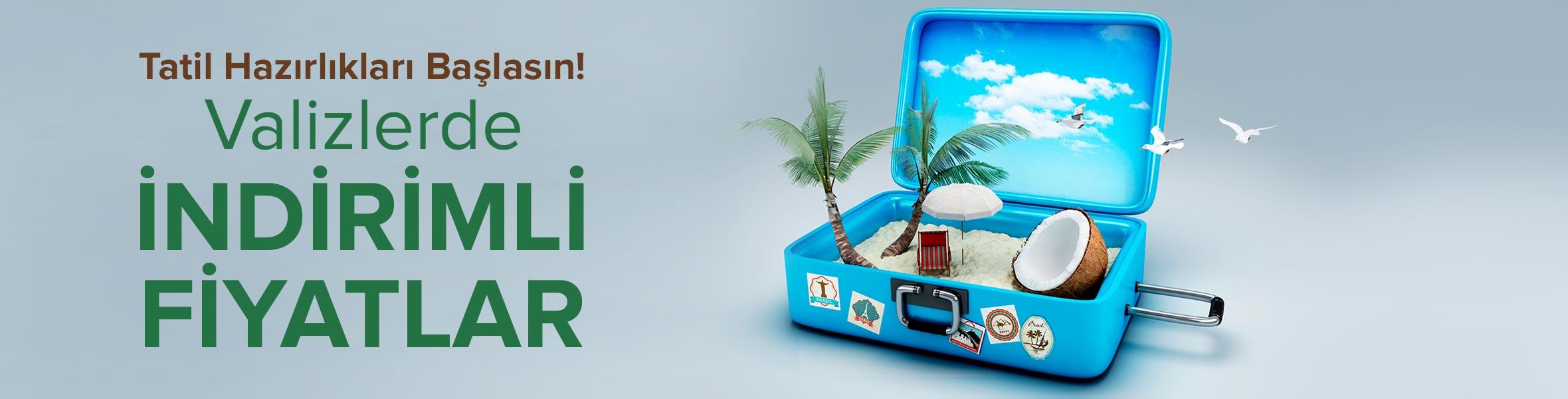 Tatil Hazırlıkları Başlasın! Valizlerde İndirimli Fiyatlar