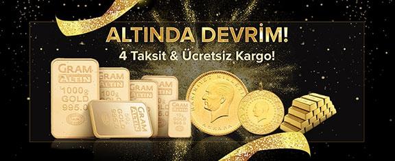Yatırımınızı Altına Dönüştürün !