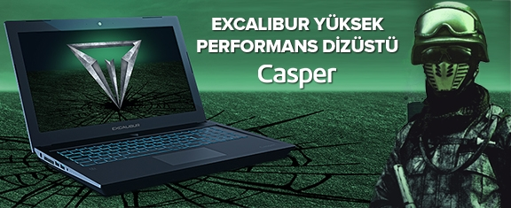 Casper Bilgisayarlarda Performans Devrimi