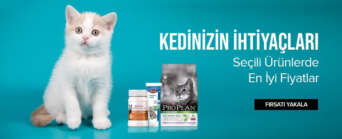 Kedinizin İhtiyaçları Seçili Ürünlerde En İyi Fiyatlar