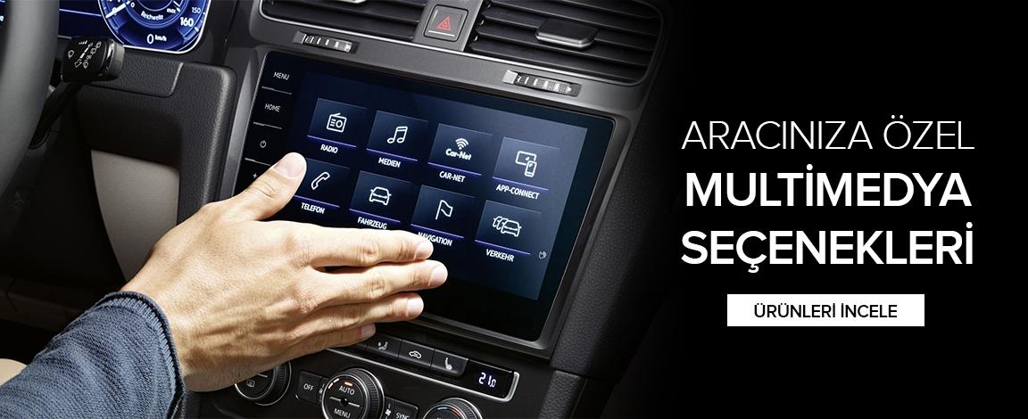 Aracınıza özel multimedya sistemleri.