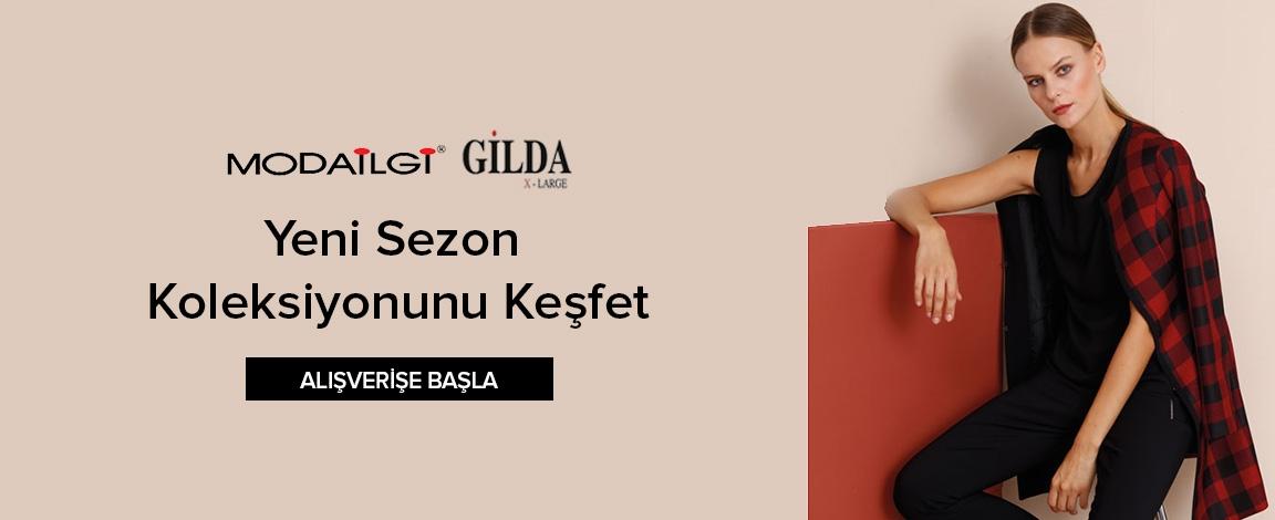 Modaİlgi - GildaXL Yeni Sezon Koleksiyonunu Keşfet