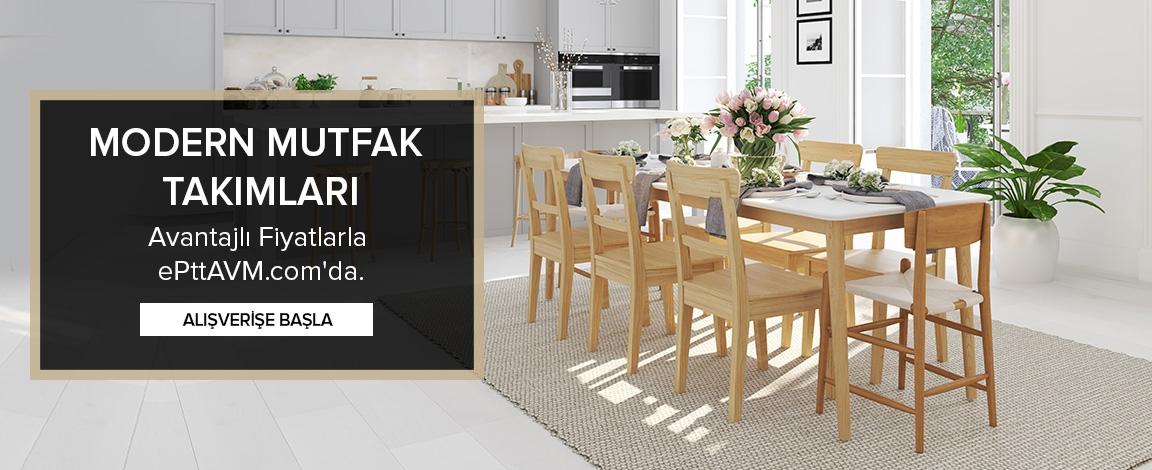 Modern Mutfak Masası Takımları İndirimli Fiyatlarla Bu Kampanyada