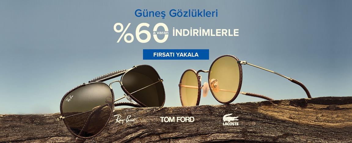 Marka Güneş Gözlükleri % 60