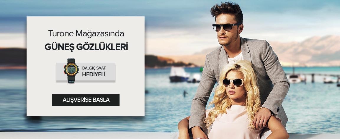 Güneş Gözlüğü Alan Herkese Dalgıç Saati HEDİYE !