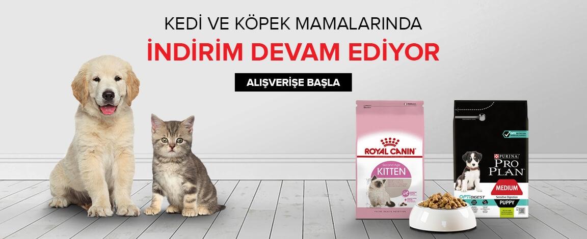 Marka Kedi ve Köpek Mamalarında İddialı Fiyatlar