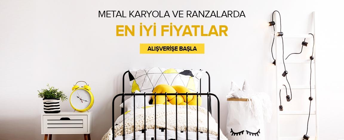 Metal Karyola Ve Ranzalarda En İyi Fiyatlar