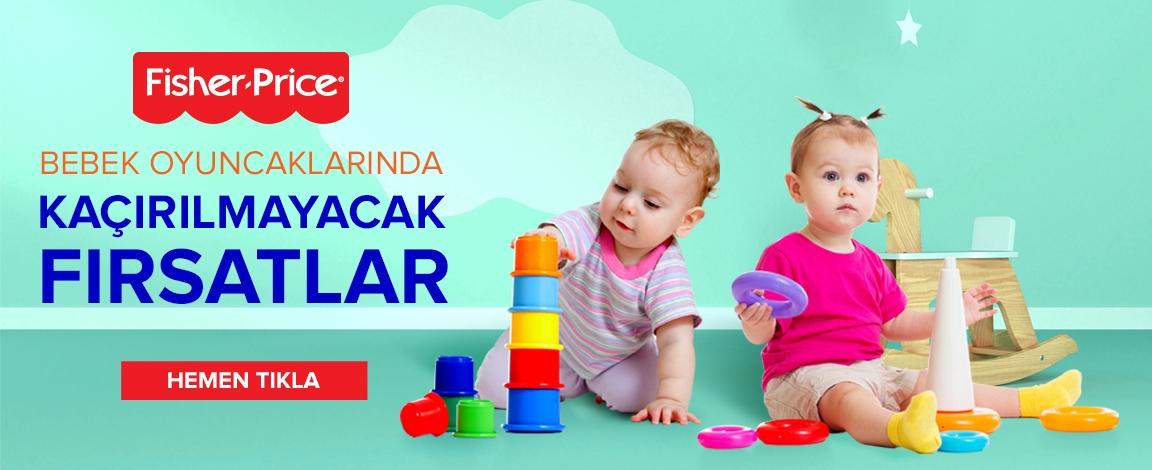 Fisher Price Bebek oyuncaklarında Fırsatlar