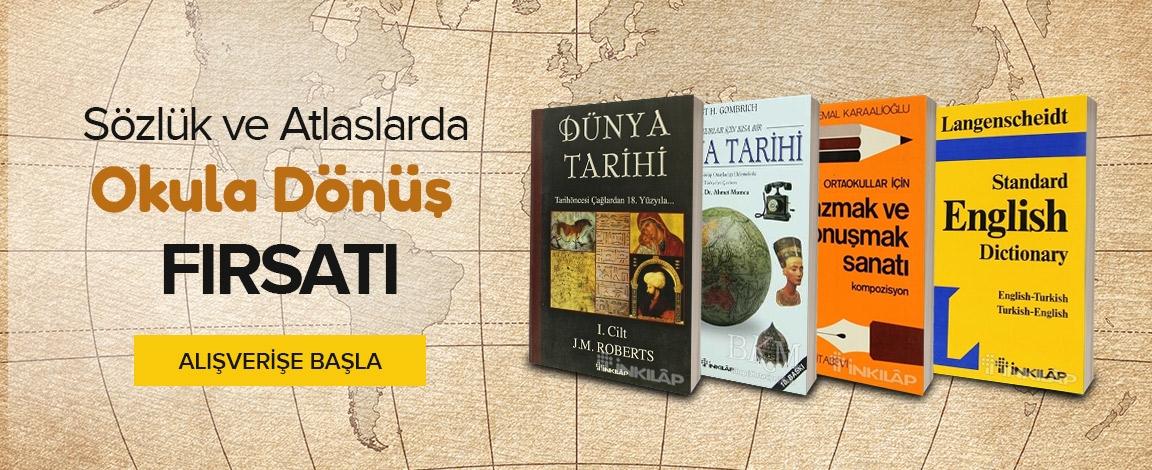 Sözlük ve Atlaslar da İndirim