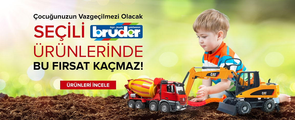 Bruder Ürünlerinde Ekim Ayına Özel Kampanya