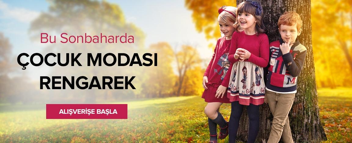 Sonbaharda Çocuk Modası Rengarenk!