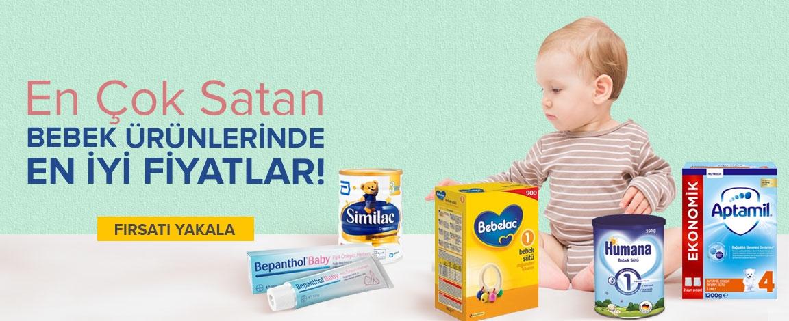 En Çok Satan Bebek Ürünleri Bir Arada