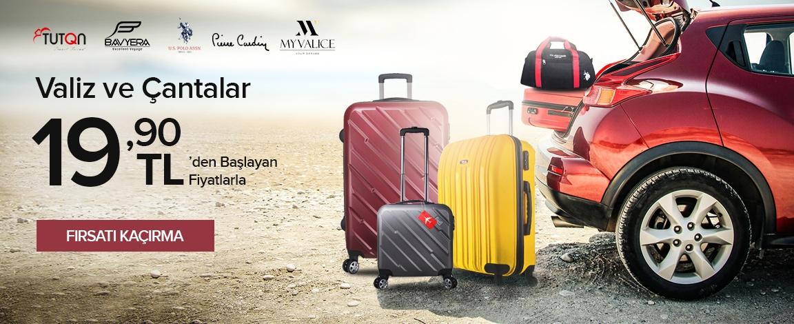 Çanta & Valiz Fırsatları 19.90 TL