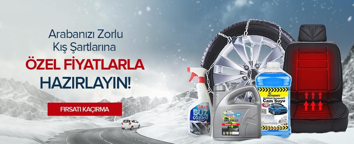 Aracınızı Kışa Hazırlayın.