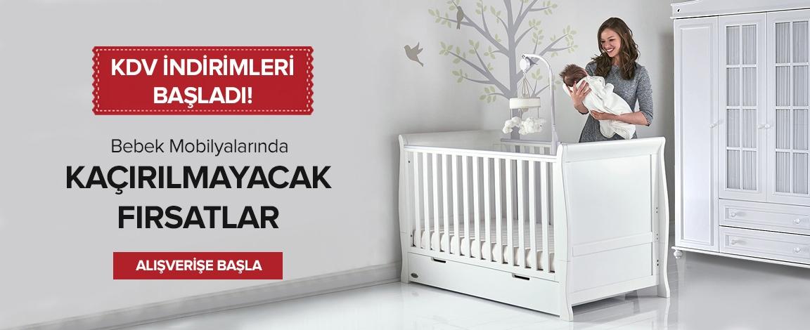 Bebek Mobilyalarında Kdv İndirimi+ %10