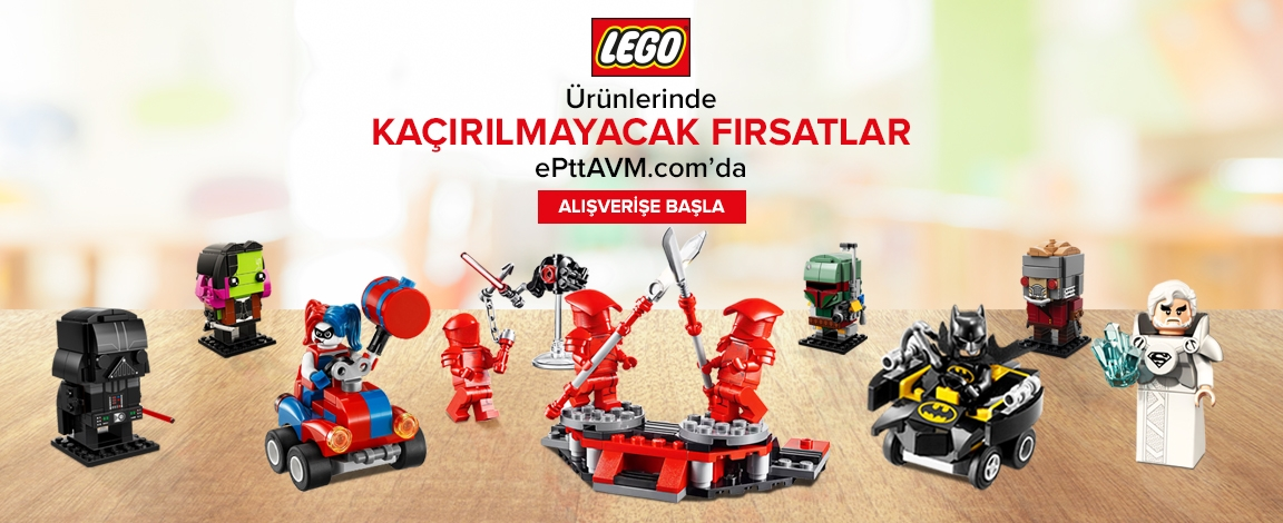 Lego Setlerinde 35,99 TL