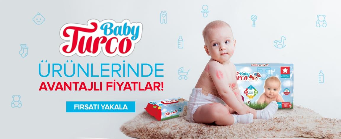 Baby Turco Ürünlerinde İndirim!