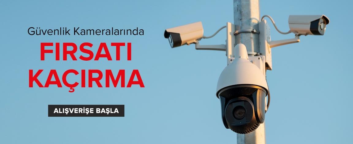Güvenlik Kameralarında Kaçırılmayacak Fırsatlar
