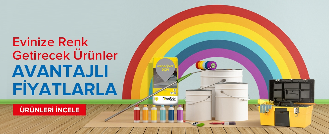 Evinize Renk Getirecek Fırsatlar Tek Tıkla Kapınızda