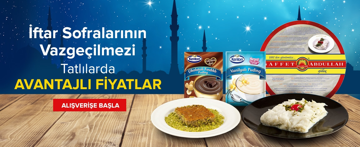 Ramazan Tatlıları Sizlerle !!!