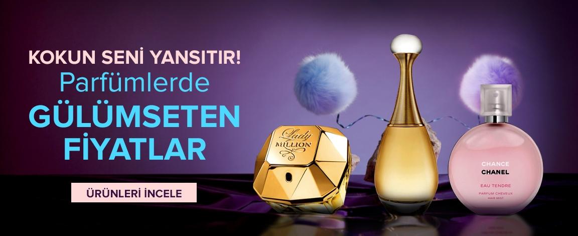 Parfümlerde Avantajlı Fiyatlar