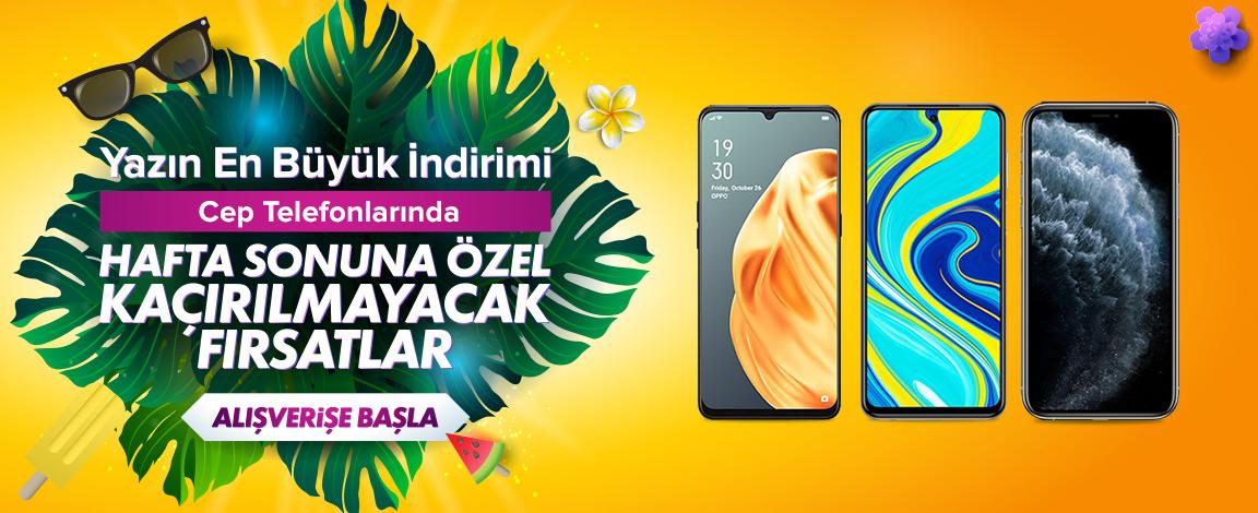 Cep Telefonlarında Haftasonu Kampanyası