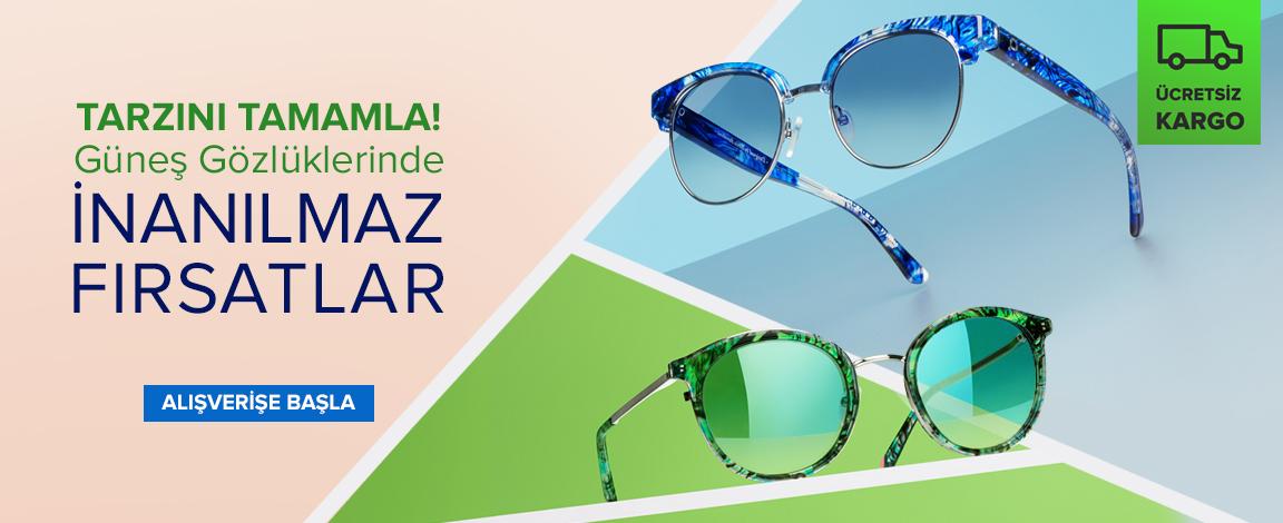 Güneş Gözlüklerinde En İyi Tarzlar !