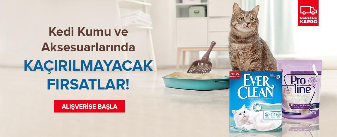 Kedi Kumu ve Aksesuarlarında Avantajlı Fiyatlar