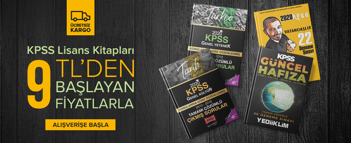 KPSS Lisans Kitapları 9,00 TL