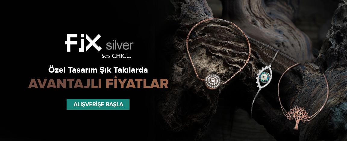 So CHIC... Fix silver Özel Tasarım Şık Takılarda Avantajlı Fiyatlar