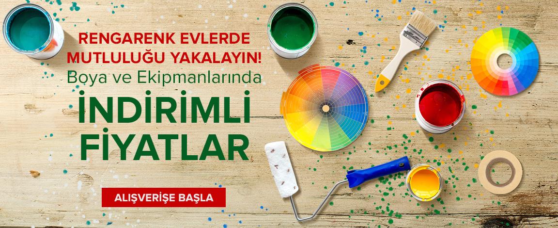 Evinizin Rengini Değiştirecek Fırsatlar !