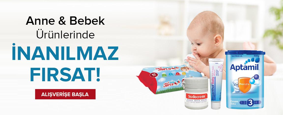 Anne-Bebek Ürünlerinde Dip Fiyatlar