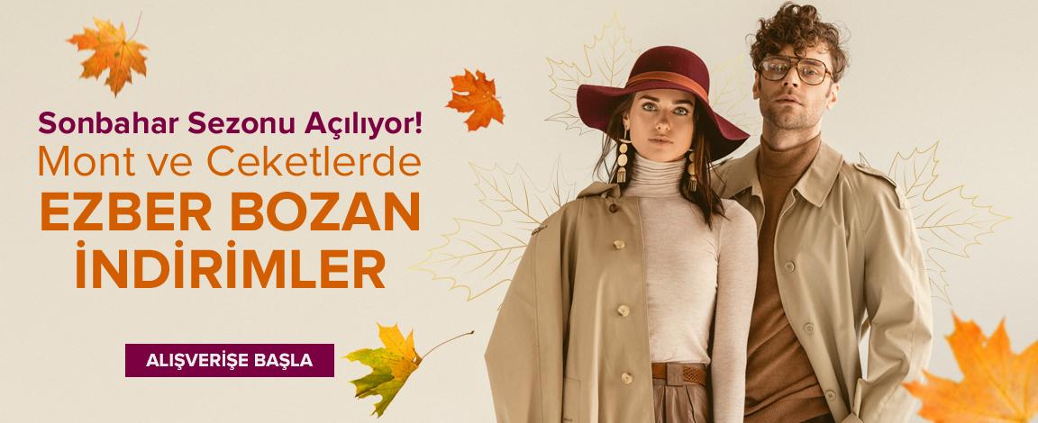 Sonbahar Sezonu Açılıyor! Mont ve Ceketlerde Ezber Bozan İndirimler