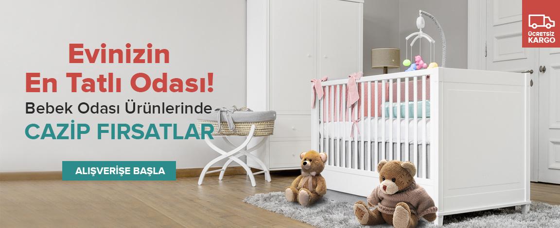 Bebek Odası Mobilyalarında Büyük İndirim