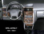 OPEL ASTRA F 1991-1998  16 PARÇA TORPİDO KAPLAMASI MAUN