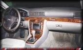 AUDI A4 1994-2002  7 PARÇA TORPİDO KAPLAMASI GÜMÜŞ