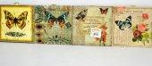 Porselen Nihale Duvar Askılı (Kelebek Figürlü)