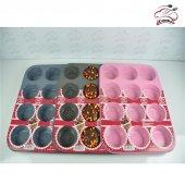 Cooker Ckr 1424 Granit 12 Bölmeli Kek Kalıbı