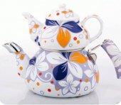 Verda Porselen Çaydanlık Takımı (Şekerlik Hediyeli)