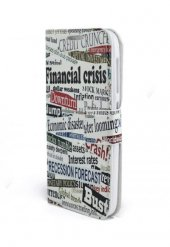 Cüzdanlı ve Kartlıklı Financal Crisis Discovery  Kapaklı Kılıf