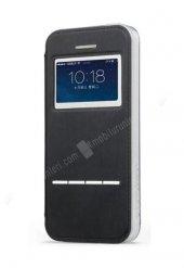 Totu Design iPhone 5 / 5S Akıllı Özel Teknolojili Lüks Siyah Kılıf