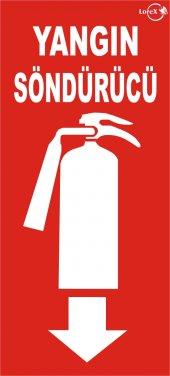 Lorex Fosforlu Uyarı Levhası (Yangın Söndürücü)